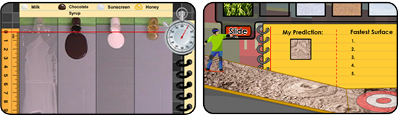 screenshots of science4us